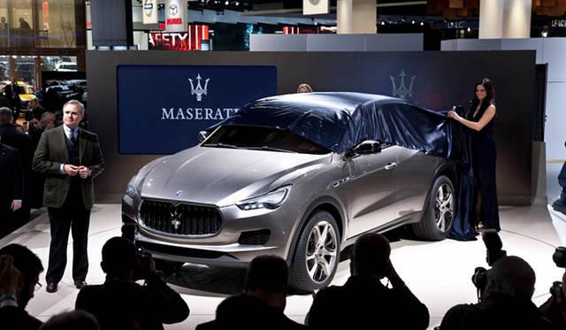 <strong>Maserati Kubang|マセラティ クーバン</strong> マセラティのCEO ハラルド・ウェスター氏