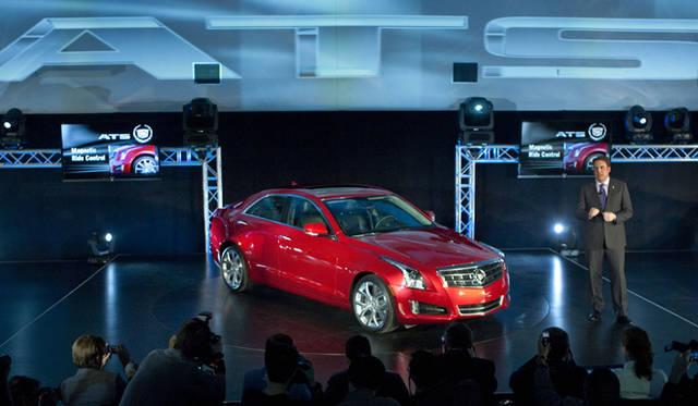 <strong>2012年デトロイトモーターショー スペシャルインタビュー</strong> デトロイトモーターショーでのキャデラックATS発表会の模様