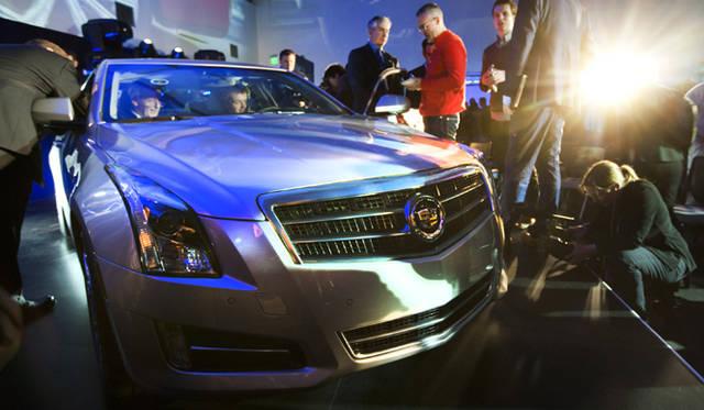 <strong>2012年デトロイトモーターショー スペシャルインタビュー</strong> デトロイトモーターショーにおけるキャデラックATS発表会場