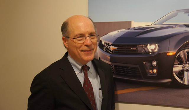 <strong>2012年デトロイトモーターショー スペシャルインタビュー</strong> GM(ゼネラルモーターズ)シボレーグローバルマーケティング&ストラテジー担当副社長、クリス・ペリー氏