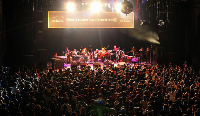 <strong>The Beetle Presents Tokyo Crossover/Jazz Festival|ザ・ビートル・プレゼンツ 東京クロスオーバー・ジャズ・フェスティバル</strong> メインフロア