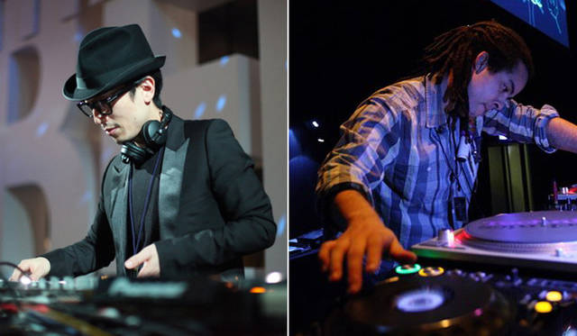 <strong>The Beetle Presents Tokyo Crossover/Jazz Festival|ザ・ビートル・プレゼンツ 東京クロスオーバー・ジャズ・フェスティバル</strong> DJ KAWASAKIさん(左)とEZELさん