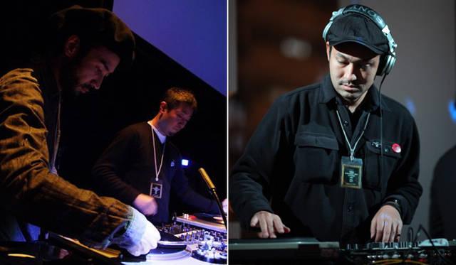 <strong>The Beetle Presents Tokyo Crossover/Jazz Festival|ザ・ビートル・プレゼンツ 東京クロスオーバー・ジャズ・フェスティバル</strong> Team Nice Dreamsのお二人(左)とBlack EditionのTsuyoshi Satoさん
