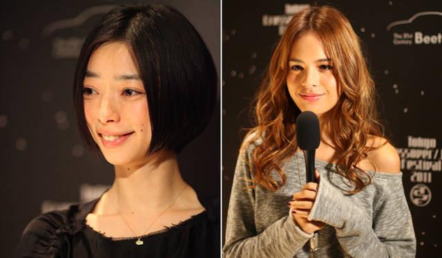 <strong>The Beetle Presents Tokyo Crossover/Jazz Festival|ザ・ビートル・プレゼンツ 東京クロスオーバー・ジャズ・フェスティバル</strong> オーディエンスとして来場していた女優の市川実和子さんとファッションモデルの大屋夏南さん