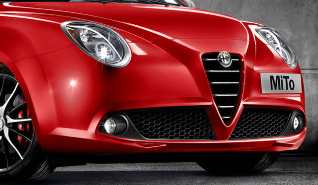 <strong>Alfa romeo MiTo Quadrifoglio Verde Limited Edition|アルファロメオ ミト クワドロフォリオ ヴェルデ リミテッド エディション</strong> フロントフォグランプのパネルはブラック仕上げに