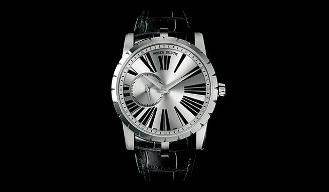 <strong>ROGER DUBUIS|ロジェ・デュブイ</strong> 「エクスカリバー クラシック」 130万2000円(予価)、今秋発売予定。
