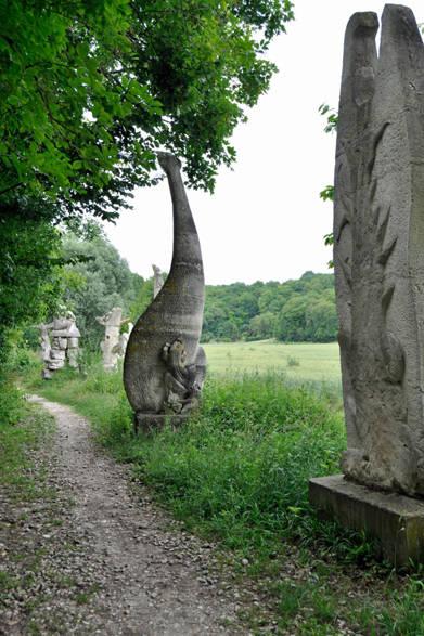 <strong>carnet de jardin 松永 学</strong> 川から上がってきた両性動物の化石かな