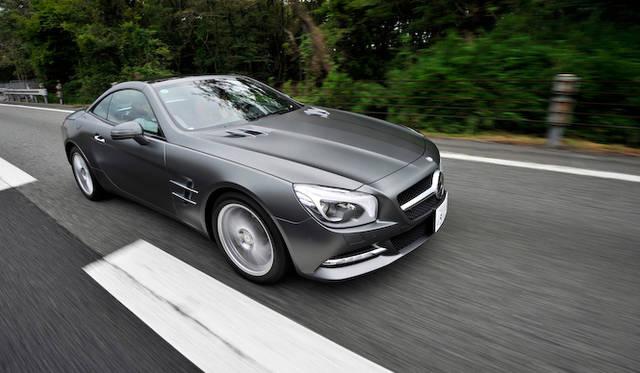 <strong>Mercedes-Benz SL550 BlueEFFICIENCY|メルセデス・ベンツSL550ブルーエフィシエンシー</strong>