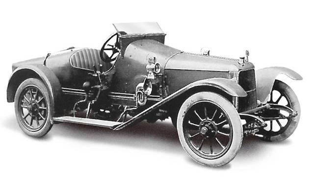 <strong>Astonmartin Coal Suttle|アストンマーチン コールスカトル</strong><br />1915年製 石炭をいれるバケツ という変わった名前をもつ アストンマーティンブランド最初のクルマ 1915年に発売 性能は優秀だったがセールス面では不調だったという