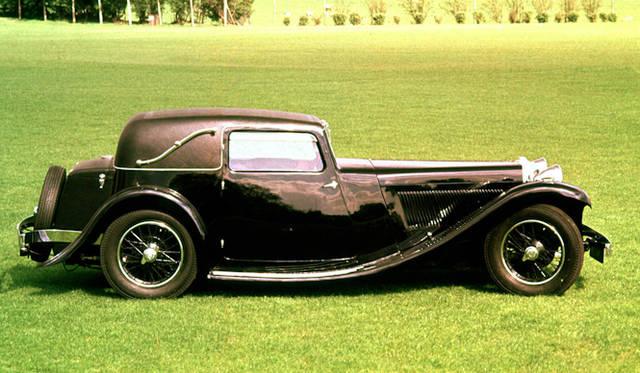 <strong>Jaguar SS1|ジャガー SS1</strong><br />1932-1936年にかけて製造された4シータークーペ