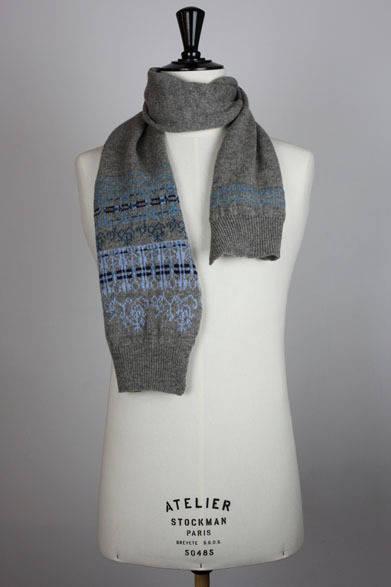 <strong>MONSIEUR LACENAIRE|ムッシュー・ラスネール</strong> 2012-13年秋冬コレクション フェアアイルスカーフ
