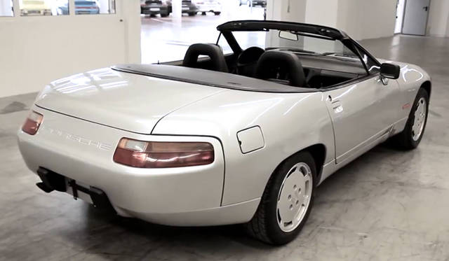 <strong>Porshce Museum Secrets|ポルシェ ミュージアム シークレッツ</strong> Porsche 928 Convertible