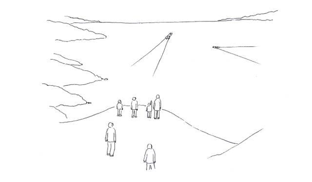 <strong>伊藤嶺花×鈴木康広|スピリチュアル対談(前編)</strong> 主催者側から掲示された「人が乗れる」という条件を満たすべく、全長11.37メートル、重さ5.3トンという巨大なファスナーの船を完成させた