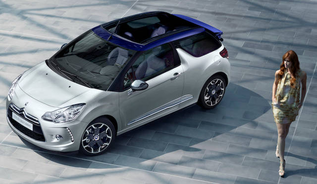 <strong>Citroen DS3 cabrio|シトロエン DS3 カブリオ</strong>
