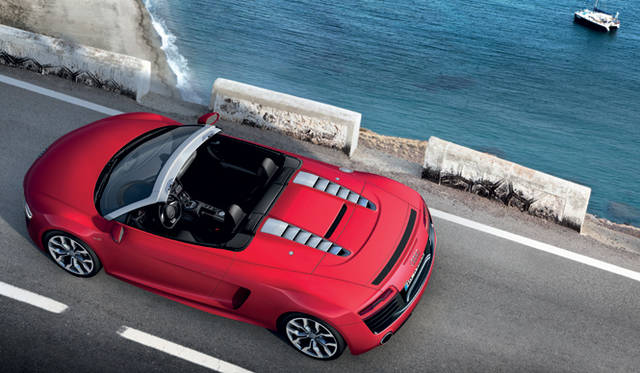 <strong>Audi R8 Spyder アウディ R8 スパイダー</strong>