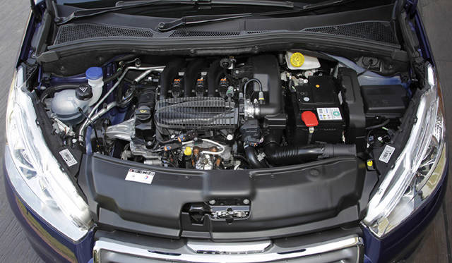 <strong>Peugeot 208|プジョー 208</strong><br />新開発の1.2リッター3気筒エンジン