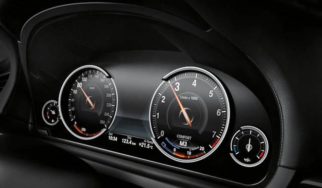 <strong>BMW 7 series|BMW 7シリーズ</strong> マルチ・ディスプレイ・メーター・パネル コンフォートモード