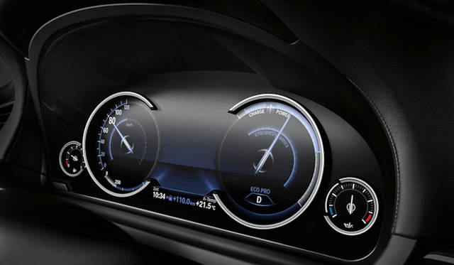 <strong>BMW 7 series|BMW 7シリーズ</strong> マルチ・ディスプレイ・メーター・パネル ECO PROモード