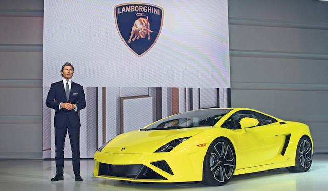 <strong>Volkswagen Group Night|フォルクスワーゲン グループ ナイト</strong><br />ランボルギーニ社長兼CEO ステファン・ヴィンケルマン氏とあたらしい「ガヤルド」