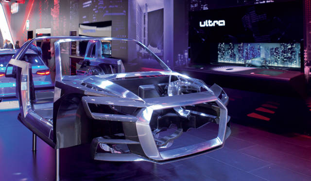 <strong>Audi crosslane coup&eacute;|アウディ クロスレーン クーペ</strong><br />マルチマテリアルスペースフレーム