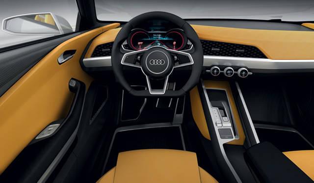 <strong>Audi crosslane coup&eacute;|アウディ クロスレーン クーペ</strong><br />ドライバーにフォーカスしたコックピット