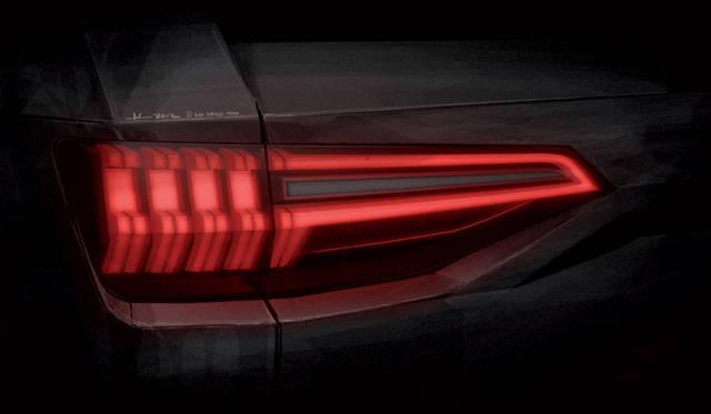 <strong>Audi crosslane coup&eacute;|アウディ クロスレーン クーペ</strong><br />テールランプもヘッドライト同様 これまでと意匠が変更されている