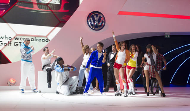 <strong>Volkswagen フォルクスワーゲン</strong> 発表の様子