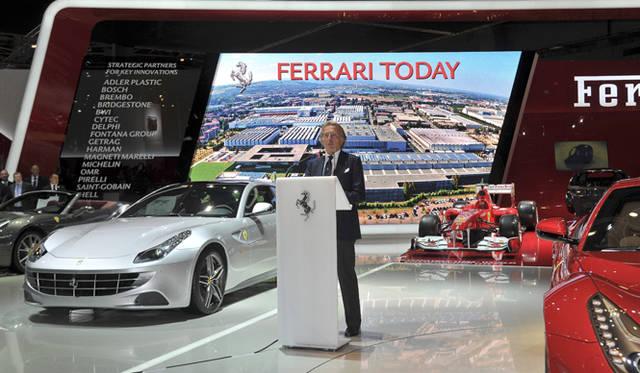 <strong>Ferrari|フェラーリ</strong> フェラーリ会長 ルカ・コルデーロ・ディ・モンテゼーモロ氏