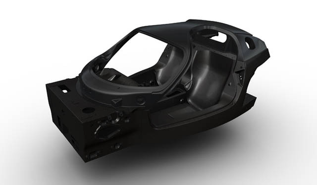 <strong>Ferrari Carbon Composite Chassis|フェラーリ カーボンコンポジットシャシー</strong>
