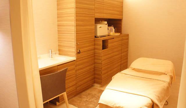 サロン「BeautyApothecary spa by uka」 個室も完備