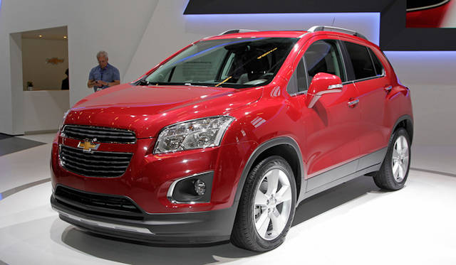 <strong>Chevrolet TRAX|シボレー  トラックス</strong>