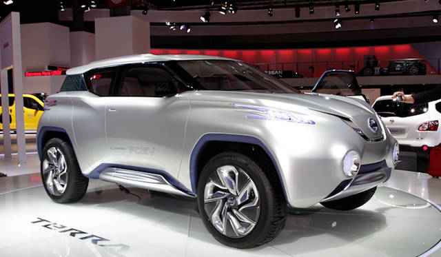 "<strong><a href=""/article/15469"" class=""link12lh15blue"" Title=""日産、燃料電池の四輪駆動SUV「テラ」を出展