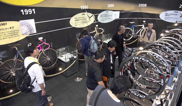 <strong>サイクルモードインターナショナル2012</strong> 世界中の自転車関連製品ブランドが出展