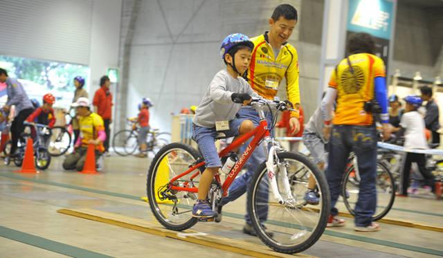 <strong>サイクルモードインターナショナル2012</strong> キッズのためのイベント
