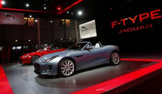 <strong>Jaguar F-TYPE|ジャガー Fタイプ</strong> パリモーターショー2012