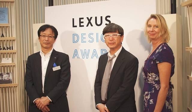 <strong>LEXUS DESIGNE AWARD|レクサス デザイン アワード</strong><br />左から大原一夫氏、伊東豊雄氏、バーキット・ローマン氏
