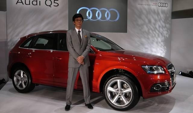 <strong>Audi Q5|アウディ Q5</strong><br />アウディジャパン 代表取締役社長 大喜多 寛氏