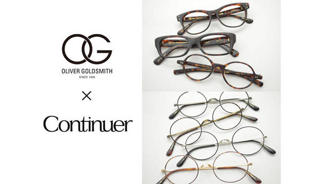 <strong>Continuer|コンティニュエ</strong> 「Continuer 10th ANNIVERSARY FAIR」 Oliver Goldsmith別注