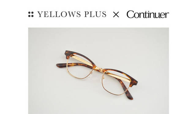 <strong>Continuer|コンティニュエ</strong> 「Continuer 10th ANNIVERSARY FAIR」 YELLOWS PLUS別注