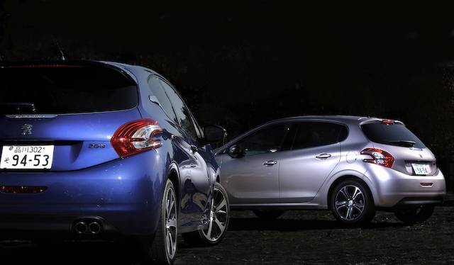 <strong>Peugeot 208 GT|プジョー 208 GT<br />Peugeot 208 Cielo|プジョー 208 シエロ</strong>
