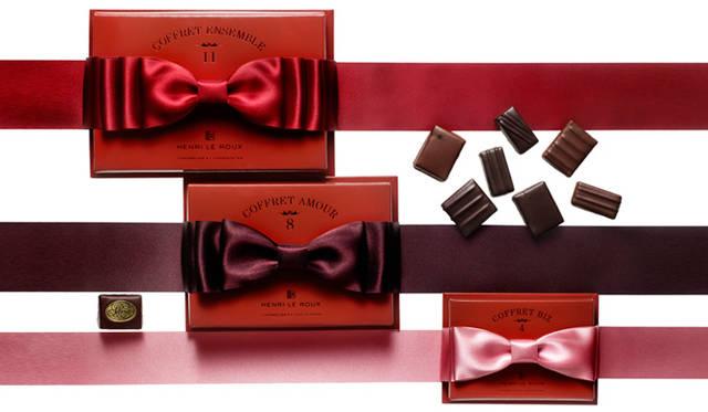<strong>HENRI LE ROUX|アンリ・ルルー</strong> 最愛のひとへの想いを結ぶ大きなリボンがアクセント! バレンタイン限定のスペシャルパッケージ発売