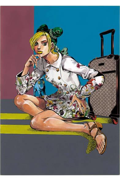 <strong>GUCCI|グッチ</strong> 荒木飛呂彦の特別描き下ろしマンガが全世界のグッチ直営店のウィンドウを飾る<br />&copy;LUCKY LAND COMMUNICATIONS / SHUEISHA