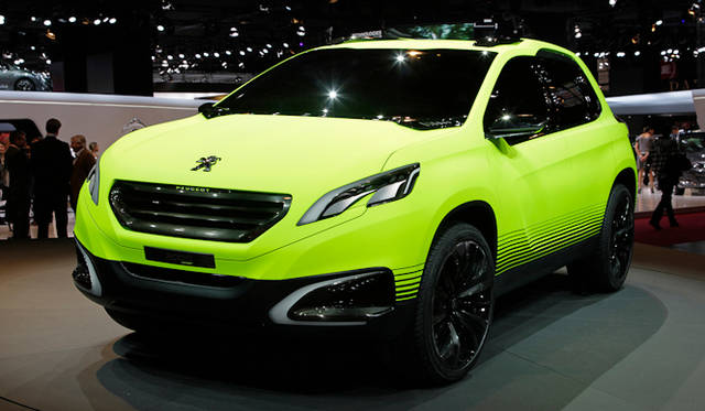 <strong>Peugeot 2008 concept|プジョー2008 コンセプト</strong>