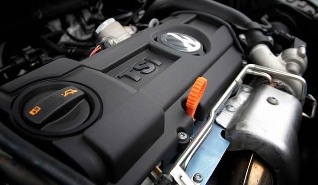1.4リッター TSIエンジン ダウンサイジングエンジンの代表ともいうべきユニットだ