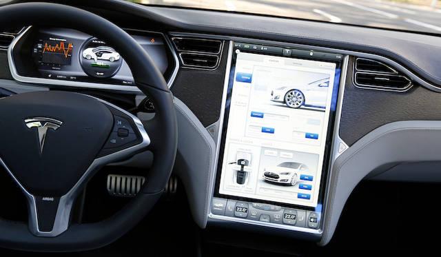 車両の設定画面