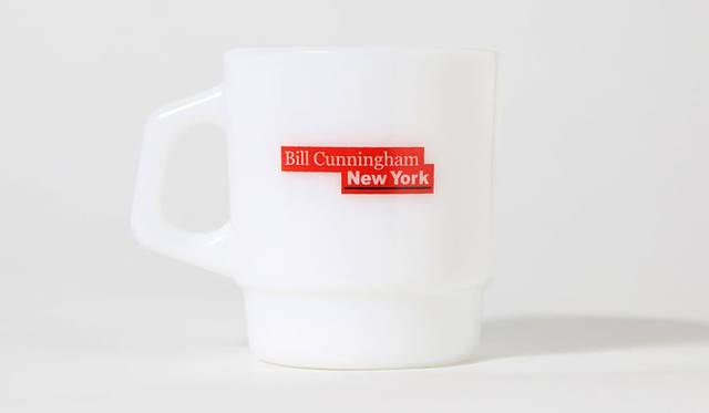 <strong>伊勢丹×ビームス</strong> 映画『ビル・カニンガム&ニューヨーク』 ビル・カニンガム本人の名言を記したマグカップ(3675円)