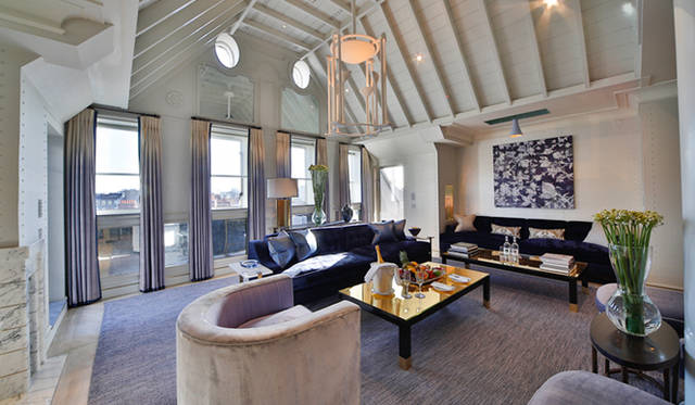 2009年に大幅な改装がおこなわえた「ザ・コノート」。全121の部屋数をもつ