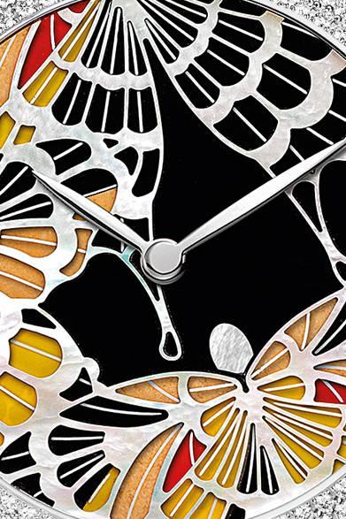「Attrape Moi|アトラップ・モワ」 ブラックとイエローの蝶のモチーフ