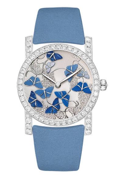 「Attrape Moi|アトラップ・モワ」 ブルーの蝶モチーフ、861万円