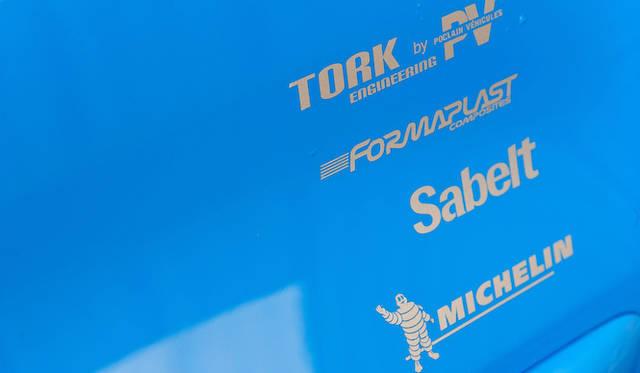 フランスの競技用車両のスペシャリストTork Engineering、Poclain Vehiculesをはじめ、SabeltやMichelinなどが開発に協力している